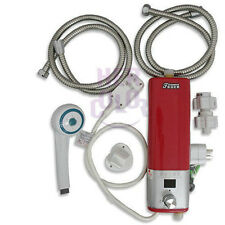 220V Caravan Camping Mini Portable Electric Hot Water Heater Shower System TRA76