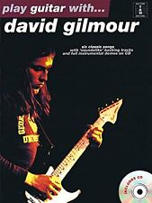 PINK FLOYD PLAY GUITAR WITH DAVID GILMOUR TAB SONG BOOK