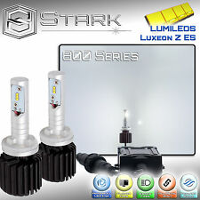 New Z ES LED 8000LM Kit 6000K White Fog Light Bulbs PAIR 880 881 893 894 899 (B)