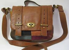 FOSSIL Mason patchwork leather crossbody satchel bag ZB5144