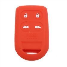 Red Silicone Remote Key Cover Shell fit for Honda Odyssey Smart Key Case 4BTN