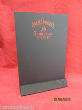 JACK DANIELS TENNESSEE FIRE TABLE TOP CHALK BOARD