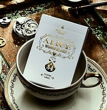 Alice in Wonderland Gold Players Edition Poker Spielkarten