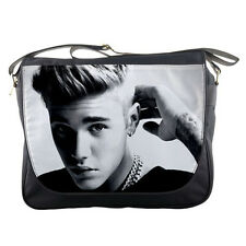 Justin Bieber 2016 Photo Mens Girls Messenger Bag Shoulder School Notebook
