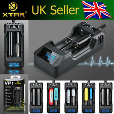 XTAR VP1 Dual Channel 3.7V Li-ion/IMR Battery Charger 16340/18500/18650 *UK/EU*