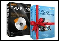 WinX DVD Ripper Platinum-with bonus video downloader program (Digital Download)