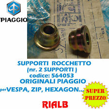 2 pz SUPPORTO RINVIO CONTAKM 564053 ORIGINALE PIAGGIO VESPA PX 125 1998 1999