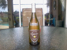CHARDONNAY Wine Bottle Decor For Display in Kitchen, Dining & Bar Area Pewter