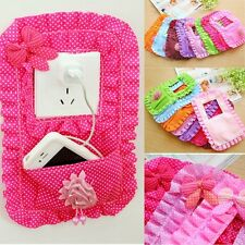 Fabric Switch Stick With Pocket Socket Mobile Phone Key Switch Cover Case NEW