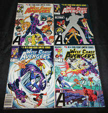1984 West Coast Avengers #1-4 Set (8.5-9.0)