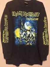 Iron maiden M long sleeve shirt Helloween Dio ACDC Judas priest Heavy metal