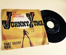 "RARE 7"" OST JOHNNY YUMA THAT SILENT MAN THE WILDER BROTHERS 1966 RCA ITALY"