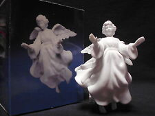 Avon Nativity Collectibles THE FLYING ANGEL White Porcelain Bisque Figurine