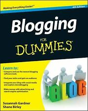BRAND NEW-Blogging for Dummies (4th Edition) INTERNET,COMPUTERS , BLOGGING GUIDE