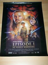 STAR WARS - EPISODE 1 - original Kinoplakat A1 ´99 - GEROLLT - GEORGE LUCAS