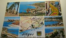 Spain Sitges Playa de Oro multi-view - posted
