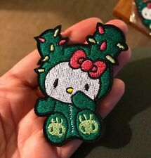 1 Tokidoki Hello Kitty Cactus iron on Patch