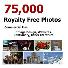 75,000 ROYALTY FREE PHOTOS STOCK CLIPART IMAGES WEB DESIGN PHOTOGRAPHY DVD