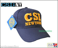 Brand New York City con licenza CAP CSI CRIME SCENE INVESTIGATION NY Cappello Polizia