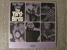THE YARDBIRDS For Your Love MONO WLP DJ Promo JEFF BECK Psych Eric Clapton