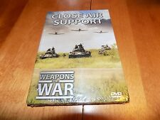 WEAPONS OF WAR CLOSE AIR SUPPORT Weapon Air Force Planes War Military DVD NEW