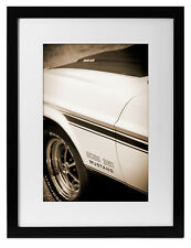 1971 Ford Mustang Boss 351 Photo Art Print 13x19 Muscle Car Garage Cleveland 71