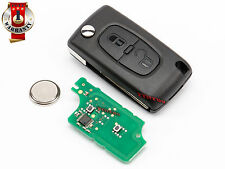 PEUGEOT 106 206 207 306 BOXER EXPERT PARTNER ID46 REMOTE CONTROL KEY 433Mhz 2 B