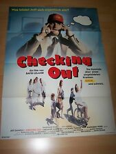 CHECKING OUT - Kinoplakat A1 ´89 - JEFF DANIELS