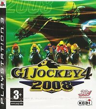 PS3 G1 Jockey 4 2008 (Sony PlayStation 3, 2008) Koei horse racing sim NEW SEALED