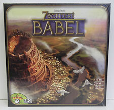7 Wonders Babel Board Game Expansion New