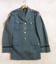 Custom Made US Army Dress Green Officer Uniform w/ pants w/3rd Army patch