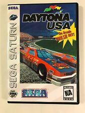 Daytona USA - Sega Saturn - Replacement Case - No Game