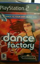 Dance Factory PLAYSTATION 2 PS2 -FREE POST
