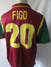 Portugal 1999 WC Figo 20 Home Football Shirt Size Large /34562