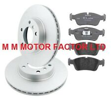 BMW 3 SERIES E46 320D SALOON 150BHP REAR 294mm VENTED BRAKE PADS AND DISCS