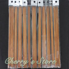 44Pcs 11sizes 10'' 25cm Double Pointed Carbonized Bamboo Knitting Needles