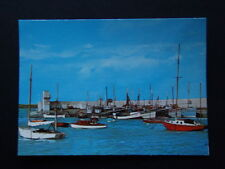 THE HARBOUR SKERRIES CO DUBLIN POSTCARD