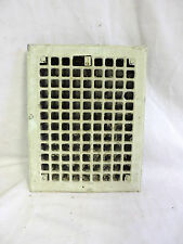 VINTAGE 1920S IRON HEATING GRATE RECTANGULAR 14 X 11
