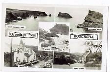 CORNISH POST CARD GREETINGS FROM BOSCASTLE