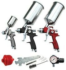 ATD 6900A  9 Pc. HVLP Spray Gun Set