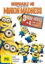 Descpicable Me presents Minion Madness DVD NEW