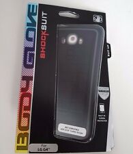 New OEM Body Glove LG G4 ShockSuit Black Rugged Cover Case & Screen Protector