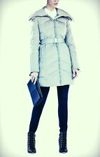 NEW BCBG $278 BLUE CONNIE DOWN PUFFER COAT SZ S SMALL