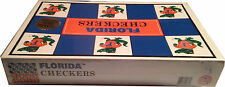NCAA FLORIDA GATORS Checkers Game Helmets Classic Rivals Edtn 1994 -New Unopened