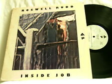 ROSWELL RUDD Inside Job Enrico Rava Dave Burrell Stafford James LP