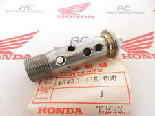 HONDA CX 650 BOLT OIL FILTRO Center GENUINE NEW 15420-415-000