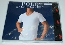 Polo Ralph Lauren Classic Fit V-Neck T-Shirts 3 Pcs Basic Tee Undershirt