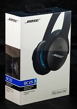 Authentic Bose QC25 Noise Cancelling Wired Headphones For Apple Devices - Black
