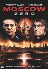 Moscow Zero (DVD, 2008) Val Kilmer Vincent Gallo Widescreen