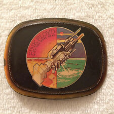 Pink Floyd Belt Buckle Wish You Were Here Vintage 1976 Pacifica RARE